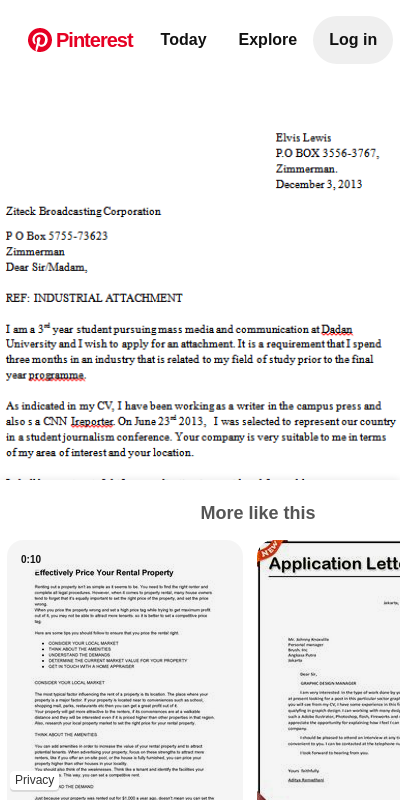 how to write attachment letter