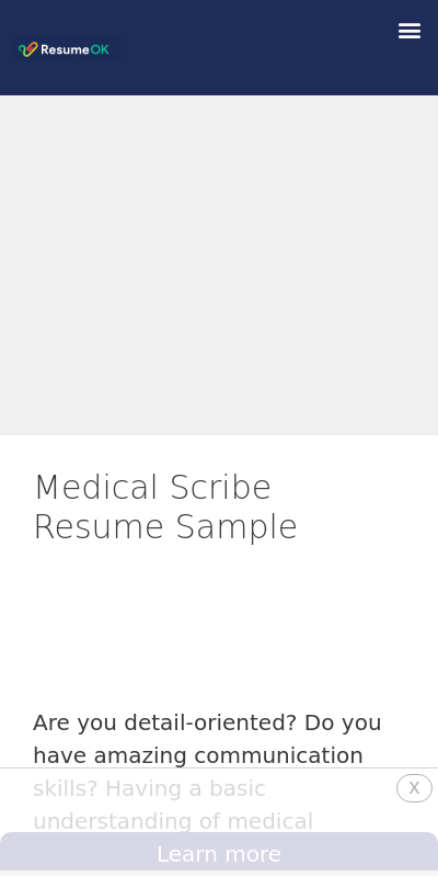 Medical Scribe Cover Letter No Experience 20 Guides Examples