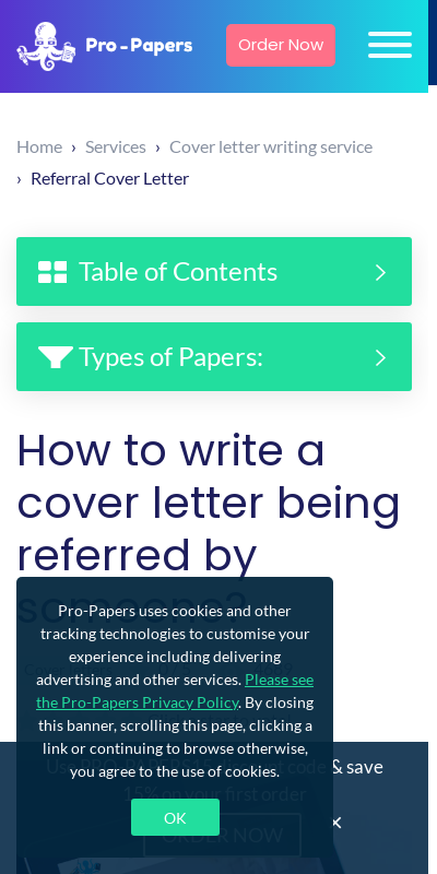 Cover Letter With Referral From Employee 20 Guides Examples