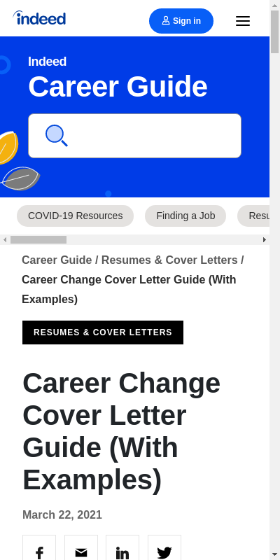 Transition From Academia To Industry Cover Letter 20 Guides Examples