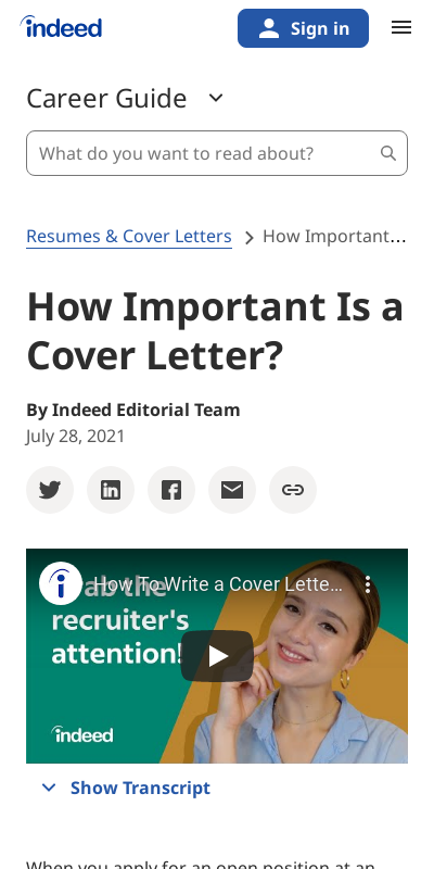 What Is The Importance Of A Cover Letter 20 Guides Examples
