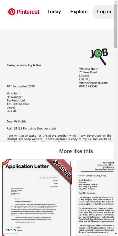 Simple Cover Letter Sample Pdf 20 Guides Examples
