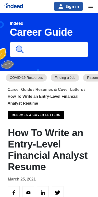Cover Letter For Entry Level Financial Analyst 20 Guides Examples