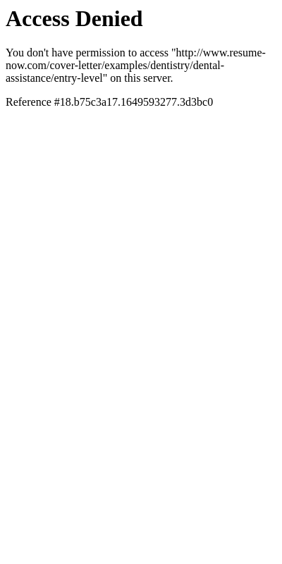 Dental Assistant Cover Letter Entry Level 20 Guides Examples