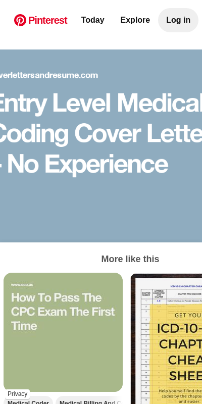Medical Coding Cover Letters 20 Guides Examples