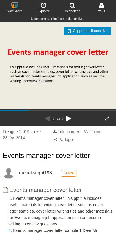 Cover Letter Event Manager 20 Guides Examples