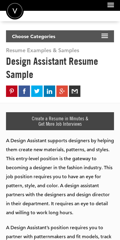 Fashion Design Assistant Cover Letter 20 Guides Examples