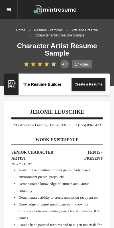 Resume character assets college student teaching assistant resume