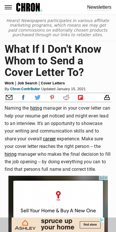 Cover Letter Don T Know Hiring Manager S Name 20 Guides Examples