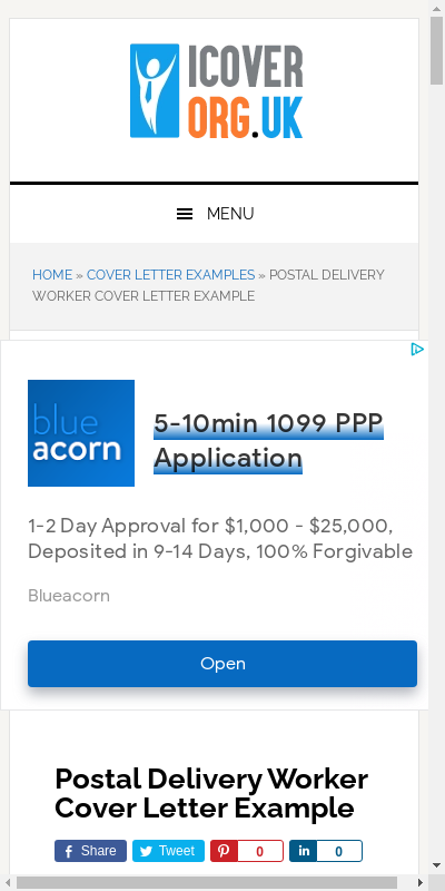 Short Application Cover Letter For Usps 20 Guides Examples