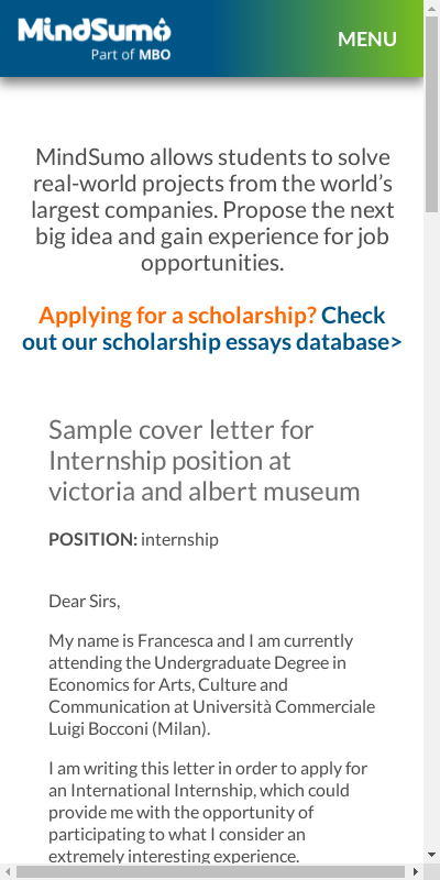 Museum Job Cover Letter 20 Guides Examples