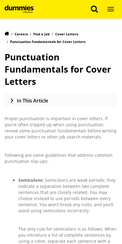 Cover Letter Comma Or Colon 20 Guides Examples