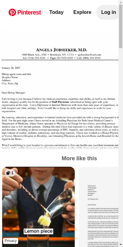 Doctor Cover Letters 20 Guides Examples