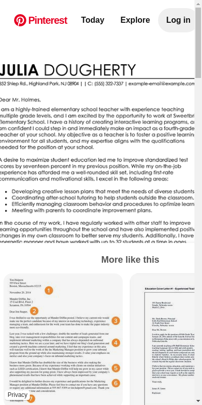Education Cover Letter New Teacher 20 Guides Examples