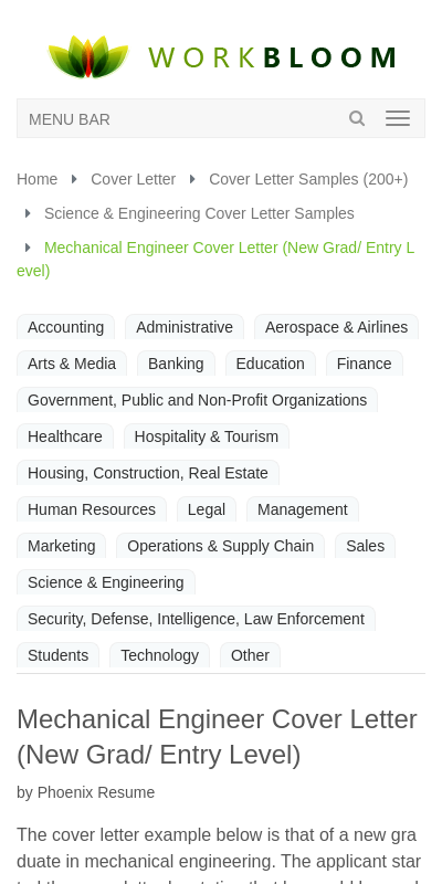 Cover Letter For Engineering Jobs Fresh Graduate 20 Guides Examples