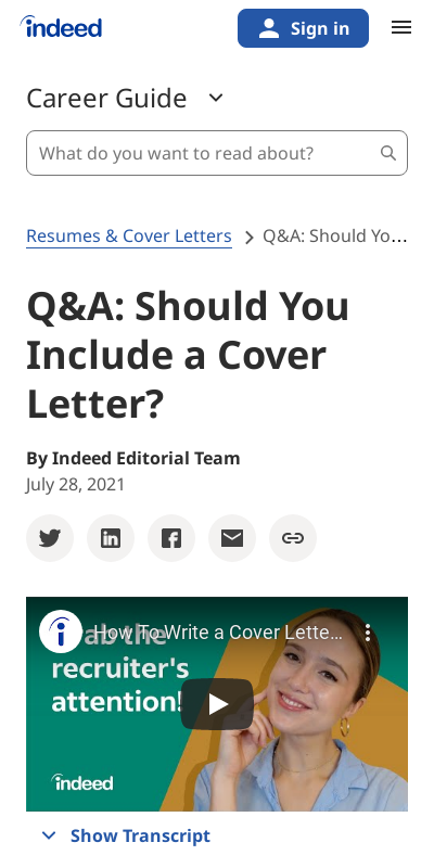 If A Cover Letter Is Optional Should I Include One 20 Guides Examples