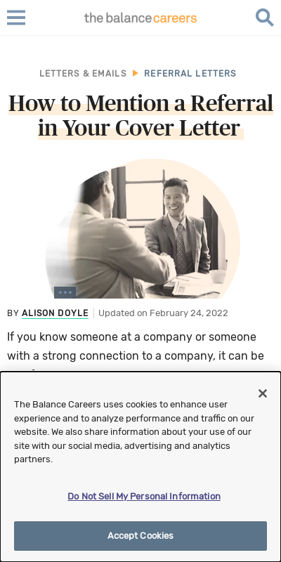 How To Reference Someone In A Cover Letter 20 Guides Examples