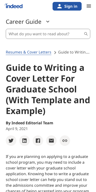 Sample Cover Letter For Graduate School Admission 20 Guides Examples