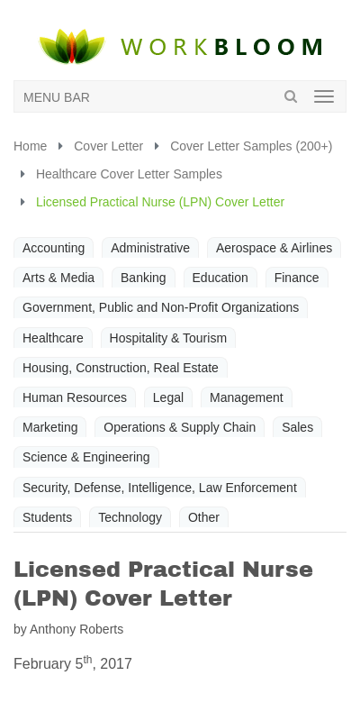 Lvn Cover Letter 20 Guides Examples