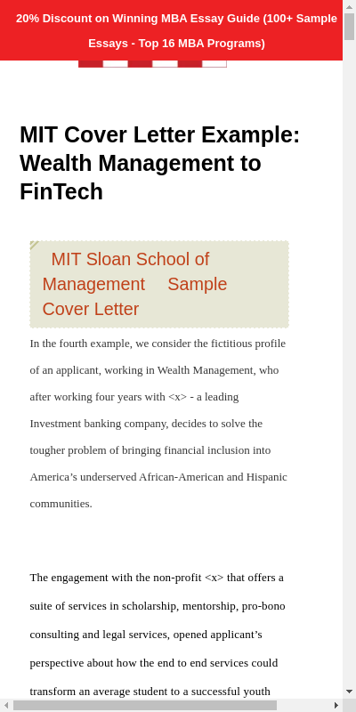 Wealth Management Cover Letter 20 Guides Examples