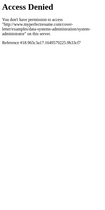 System Administrator Cover Letter Example 20 Guides Examples