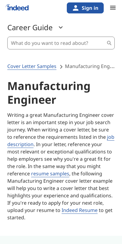 Cover Letter For Manufacturing Jobs 20 Guides Examples