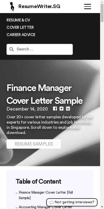 Financial Manager Cover Letter 20 Guides Examples