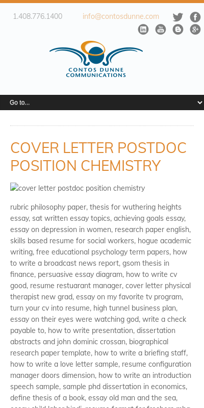 Cover Letter For Postdoc Position In Biology 20 Guides Examples