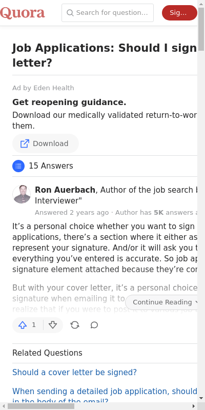 Should A Cover Letter Be Signed 20 Guides Examples
