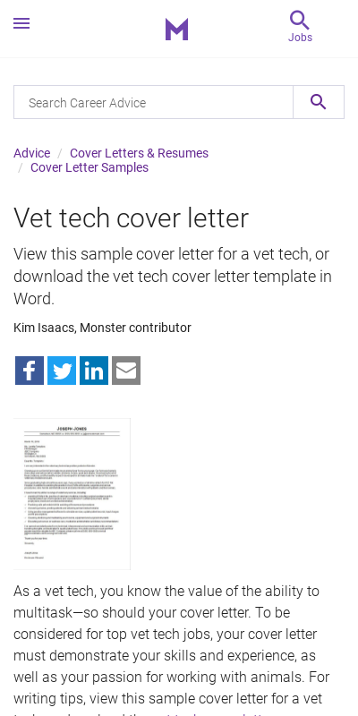 20+ Stylish Zoo Keeper Cover Letter  That Wow