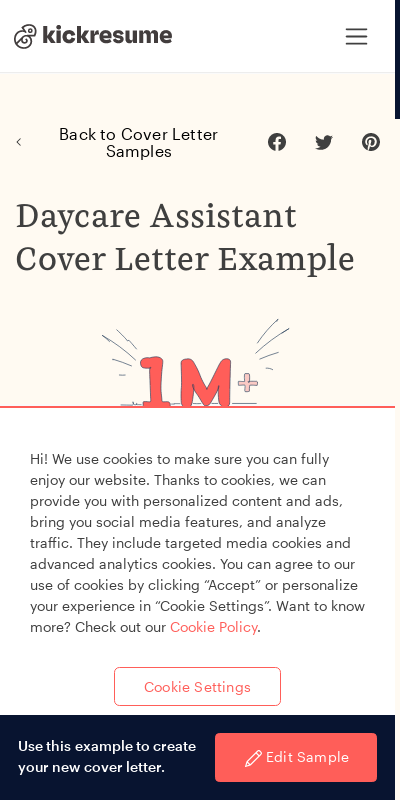 Grab Catchy Child Care Cover Letter Example  Collections