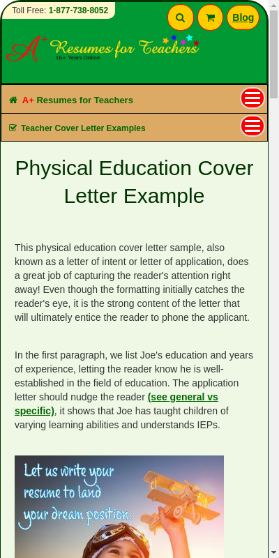 Physical Education Cover Letter Example 20 Guides Examples