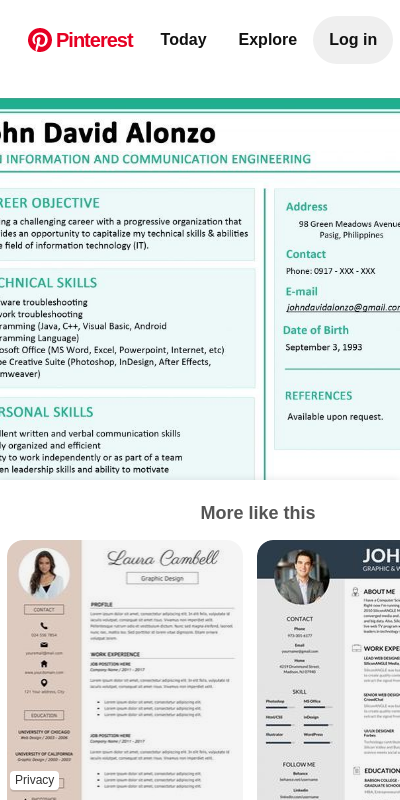 Sample resume of it graduate cover letter for airport manager