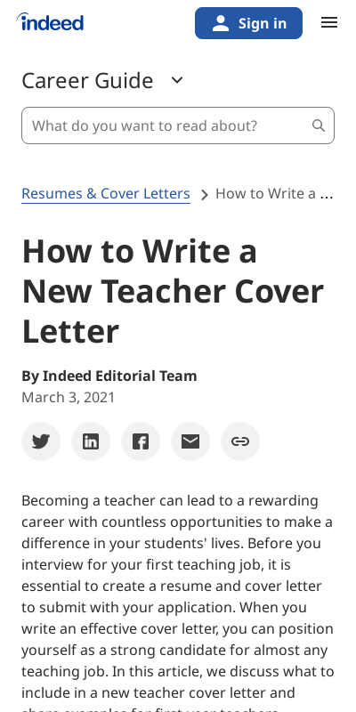 Cover Letter First Year Teacher 20 Guides Examples