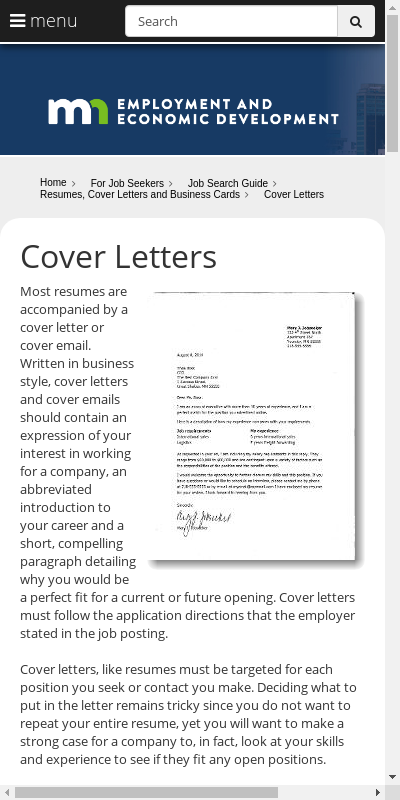 Sample Cover Letter For Unemployed Job Seeker 20 Guides Examples