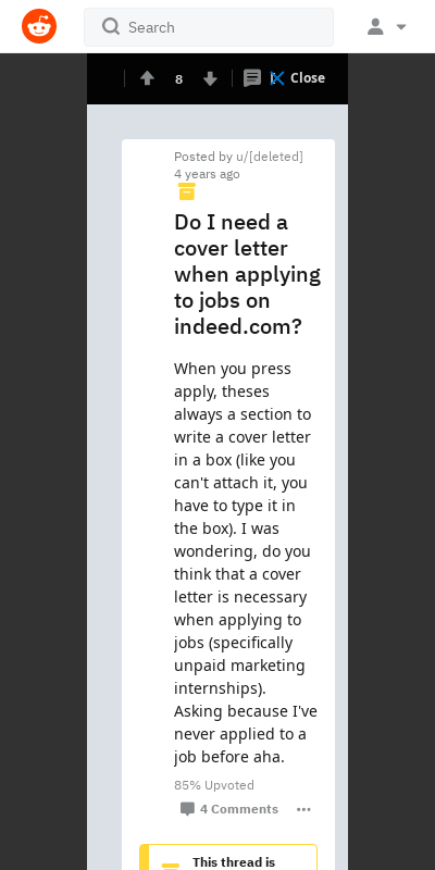 Indeed Cover Letter Reddit 20 Guides Examples