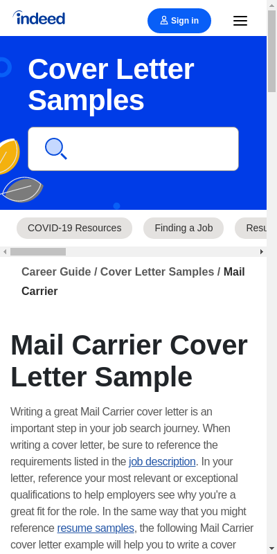 Usps Cover Letter 20 Guides Examples