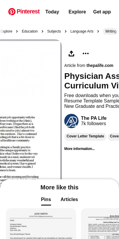 Sample Cover Letters For Physician Assistants 20 Guides Examples