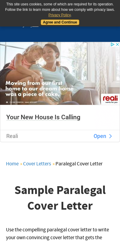 Paralegal Cover Letter Indeed Large Taken Excellent
