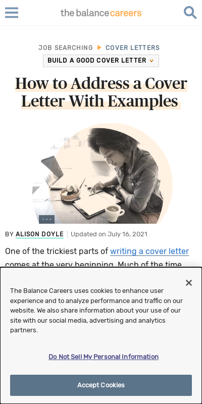 How To Address A Letter When You Don T Have A Name 20 Guides Examples