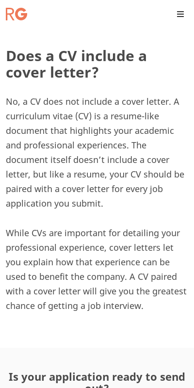 Is A Cv A Cover Letter 20 Guides Examples