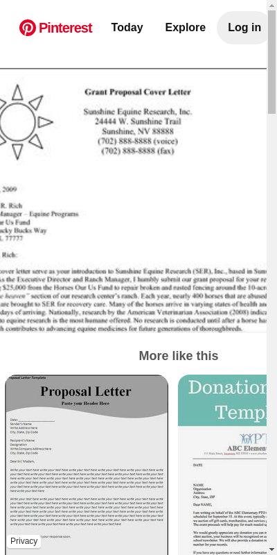 34+ Fantastic Grant Proposal Cover Letter Sample To Get Inspired