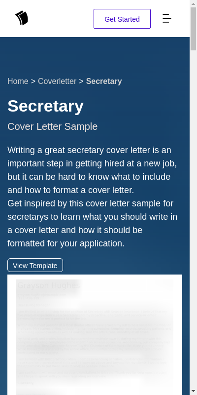 Sample Cover Letter For Secretary Position 20 Guides Examples