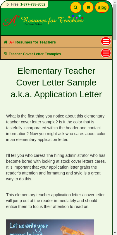 Examples Of Cover Letters For Teachers Good Concept Top Rated