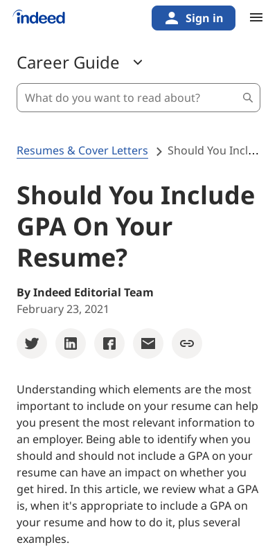 How To Add Gpa To Resume 20 Guides Examples